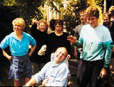 Knud Romer i Idioterne (nr. 2 fra højre)